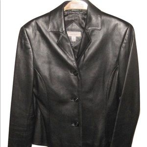 Lord & Taylor Exclusively for You Leather Jacket